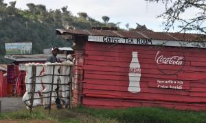 Upper Highway to Lake Nakuru Kenya