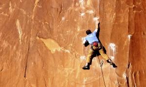 Image of a mountain climber