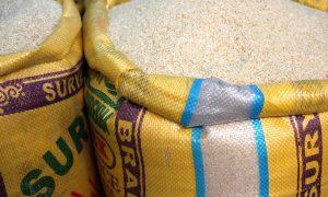 Image of bags of bulk rice